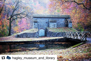 Image from Hagley Museum's Instagram.
