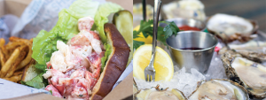 trolley-oyster-house-lobster-roll-and-oysters