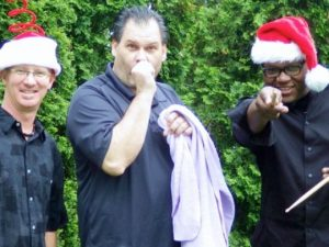 The Cartoon Christmas Trio returns to Winterthur Museum, Garden and Library on Thanksgiving Eve. (Photo: Cartoon Christmas Trio)