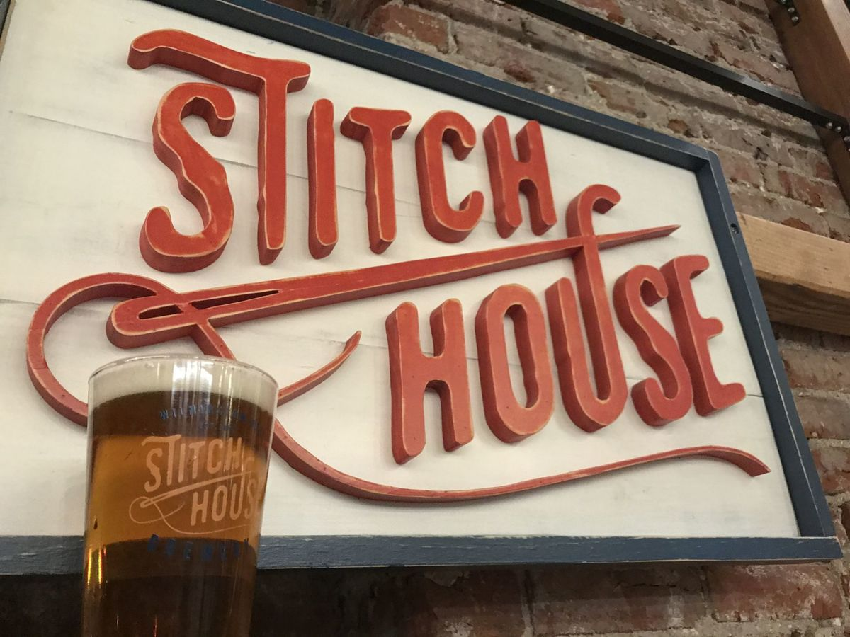 Wilmington, DE welcomes Stitch House Brewery to Market Street.