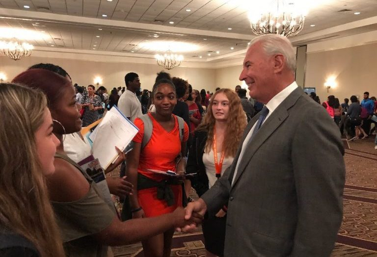 More Than 100 Students Receive College Offers At HBCU College Fair