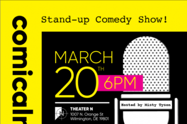 Comicalness- March 20th at Theater N. Presented by the Mill