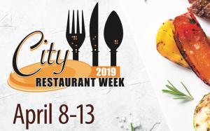 2019 City Restaurant Week April 8-13