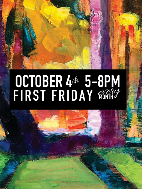 Ocotber 4th 5-8pm First Friday Art Loop It's Time Wilmington ArtLoopWilm