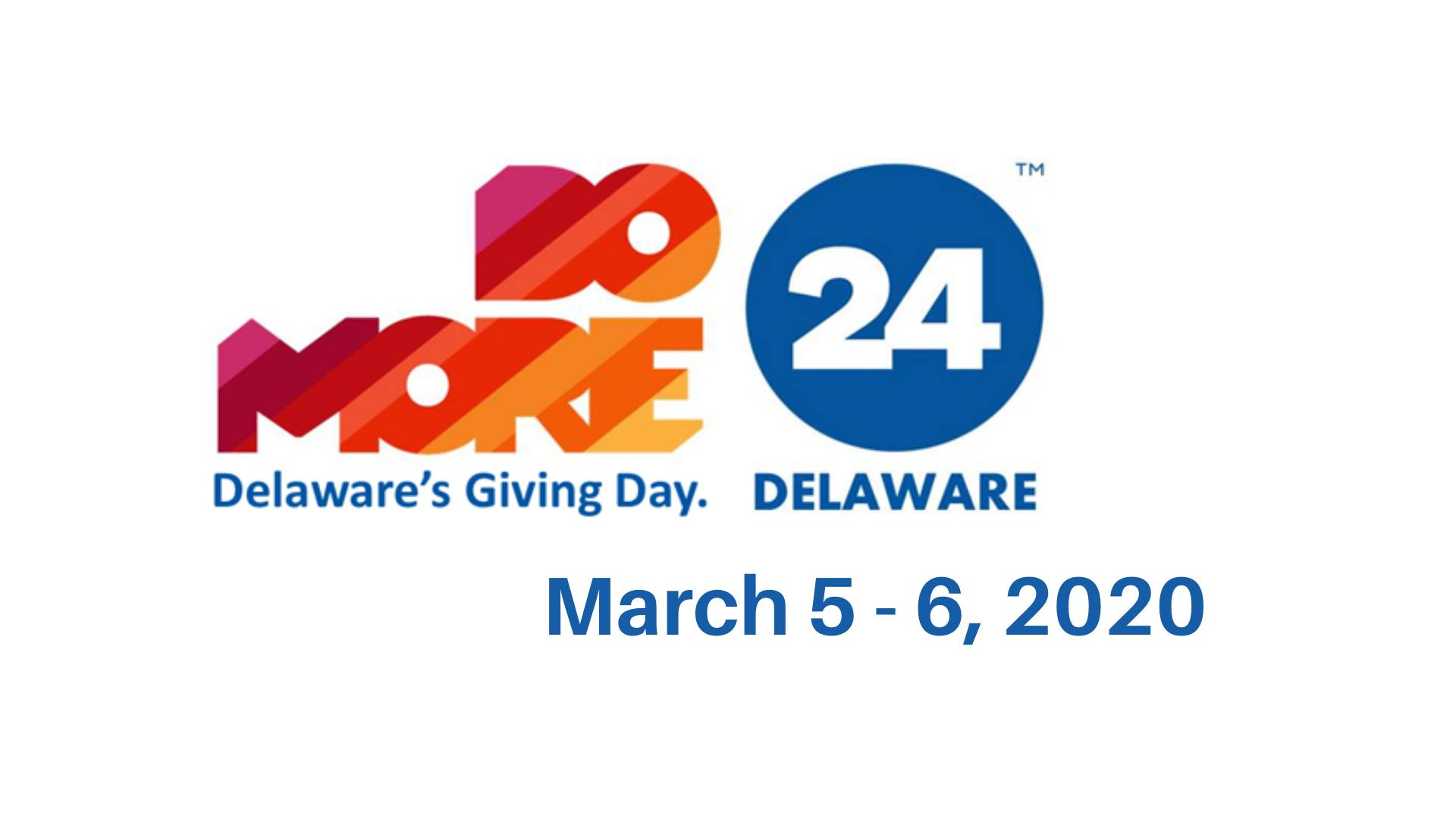 Do More 24: Day of Philanthropy Delaware