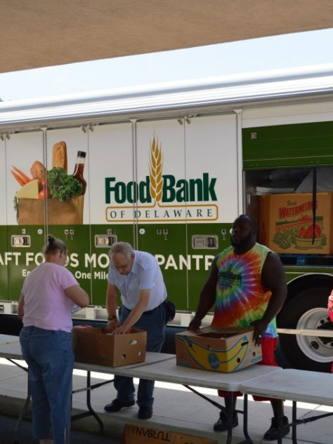 Food Bank of Delaware Mobile Pantry