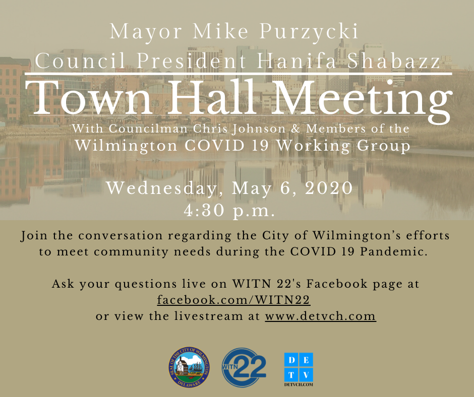 wilmington town hall on May 6