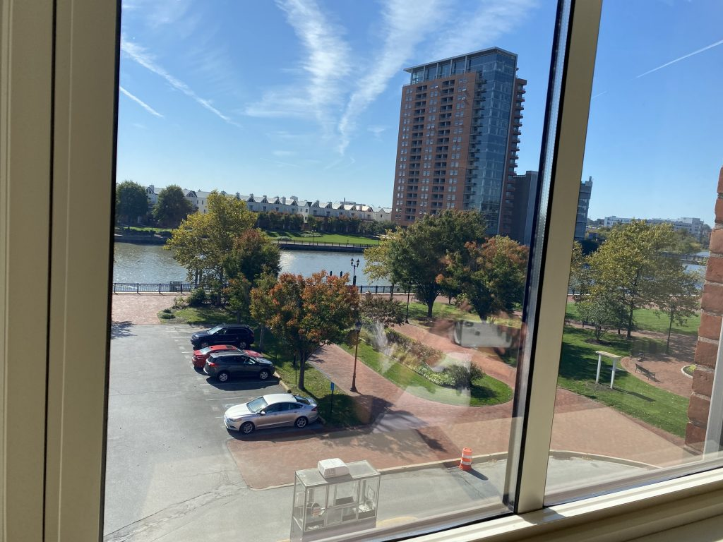 View of Wilmington Riverfront from CSC Station