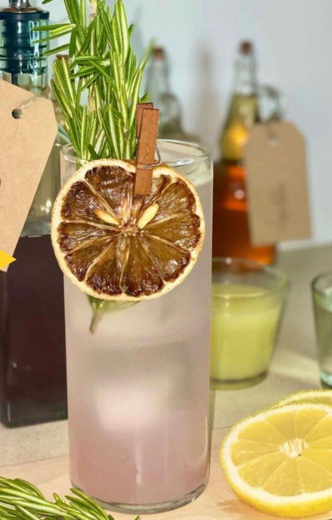 Lavender Rosemary Gin