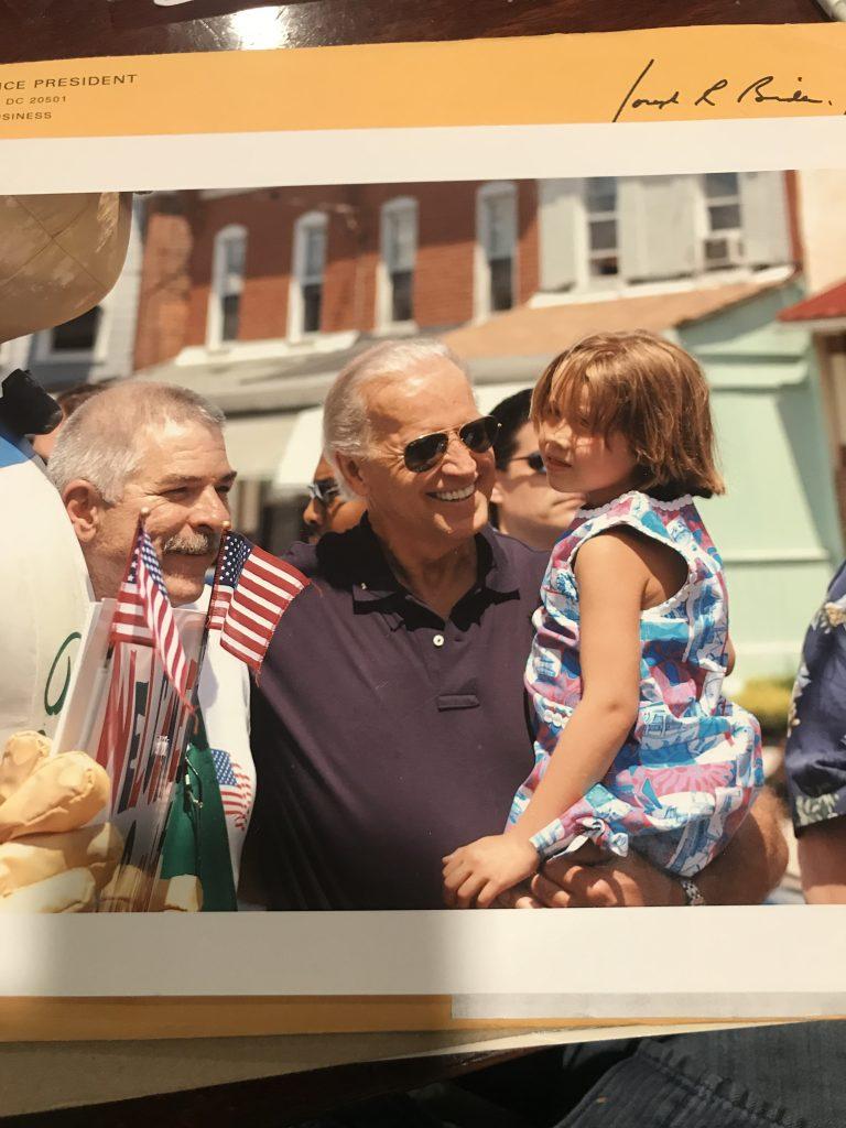 Joe Biden in Wilmington Delaware