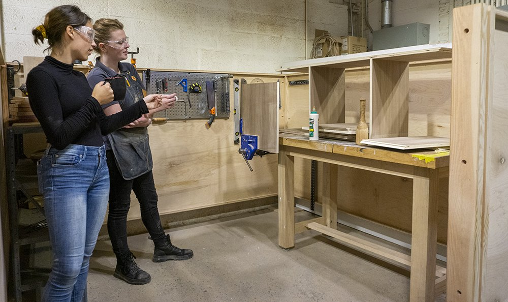 It's Time- NextFab woodworking