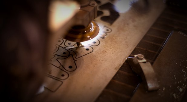 It's Time- Macro woodworking image at NextFab in Wilmington Delaware